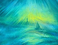 Sunshine turquoise seas