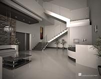 Diseño de Interiores de Recepción Oficinas