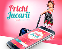 PrichiJucarii - mobile app for parents & kids