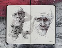 PORTRAIT SKETCHBOOK | Illustration