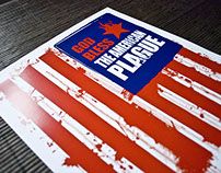God Bless the American Plague poster