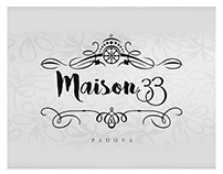 Maison33 - Logo