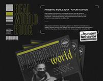 Pandemic World Book - Future fashion