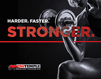 ProTemple Gym • Brand Concept