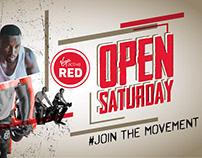 Virgin Active Red - Open Day