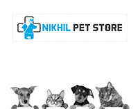 Nikhil Pet Store Logo