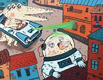 Mural Octubre Proyecto 12+1