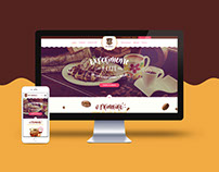 Website Café Caramello 2015