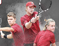 2016 NC State Mens Tennis Poster