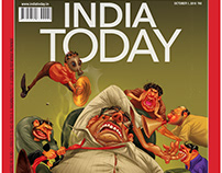 INDIA TODAY COVER ILLUSTRATION