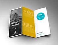 3DL Leaflet Mockup Free