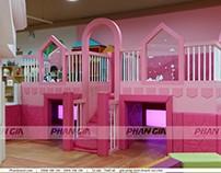 Khu vui chơi dành cho Baby từ 1-3 tuổi