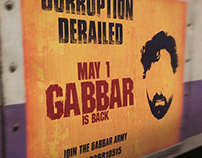 Gabbar - Movie Poster Viacom 18