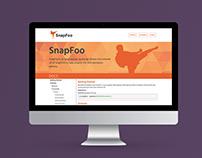 SnapFoo JavaScript Library Website