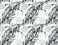Wallpaper pattern design 29 Edouard Artus ©2016