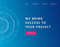 DevesTech Webpage