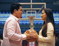 Pipoy and Maisa Basketball Prenup