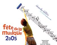 Affiche Fête de la musique 2005 (AP-HP)