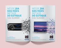 Panasonic   Dia das Mães - Anúncio Revista