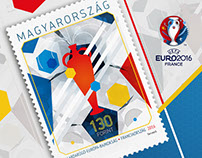 UEFA Stamp Hungary
