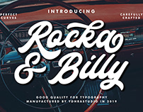 FREE | Rocka & Billy Typeface