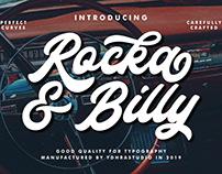 FREE | Rocka & Billy Typeface