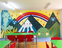 Mural proyecto CEPAS Universidad del Quindío