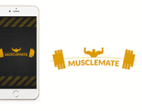 Musclemate UI/UX Design