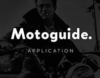 Motoguide. Concept App for motor-brotherhood