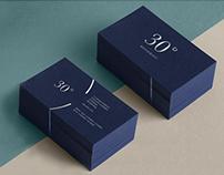 30° Restaurant Branding