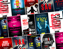 Selected Thriller Book Covers