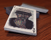 Hip Hop Illustrative Card Deck