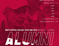 2016 NCC Track and Field Alumni Meet Poster