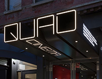 Quad Cinema - Identity and Wayfinding Design