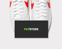 PROSTORE | website, photography