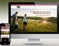 Website Terras de Toscana