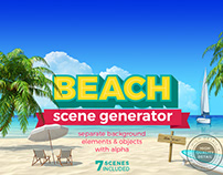 Beach Scene Generator