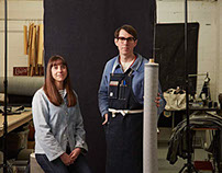 In the workshop with Dawson Denim