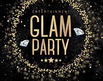 Glam Party Flyer Template