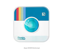 Instagram App Icon Re-Design with new features
