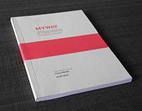 MyWay | Graduation book