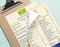 Branding - Weird Time Food Cafe, Delhi