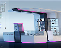 """Beauty center"" Italy - Booth Design proposal"