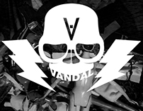 Vandal Skull Motif