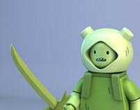 LEGO Adventure Time Fern (Grass Finn)