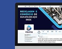 Personalização de Redes Sociais | Inox Piratini