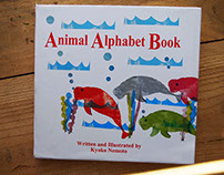Handmade Animal Alphabet Book
