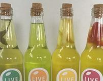 O-Live Packaging Rebrand
