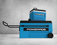 Powerade Coolers and Trailer