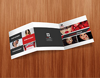 Square Tri- Fold Photography Brochure